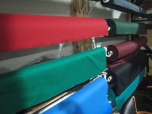 Alexandria pool table recovering table cloth colors