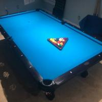 Olhausen 30th Anniversary 8 Ft Pool Table