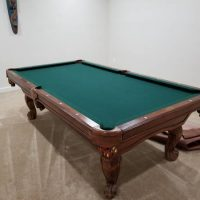 Connelly Pool Table With Cover And All Accessories