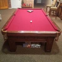 9' Slate Pool Table