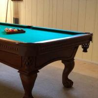 Fischer Pool Table with Accessories